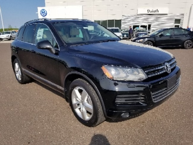 Used 2012 Volkswagen Touareg For Sale at Volkswagen of Duluth   VIN