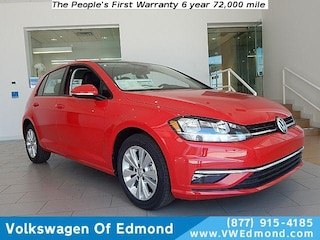 2018 Volkswagen Golf 1.8T 4-Door SE Auto Car