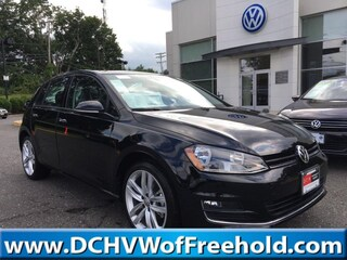 New 2017 Volkswagen Golf TSI SEL 4-Door Hatchback