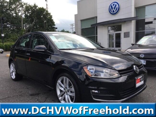 New 2017 Volkswagen Golf TSI SEL 4-Door Hatchback