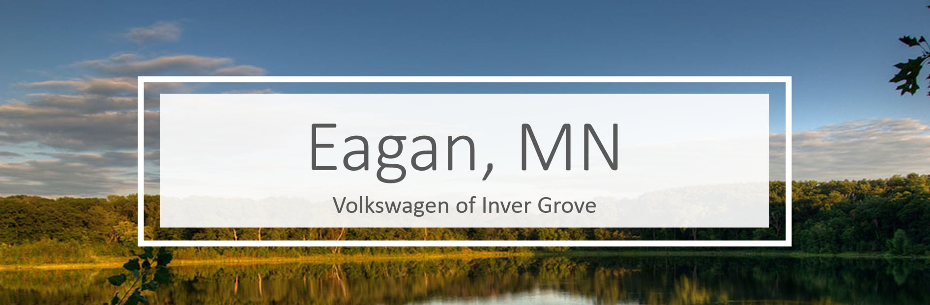 Volkswagen dealership in Eagan