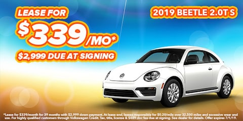 2019 Volkswagen Beetle Model Offer