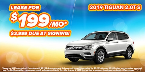 2019 Volkswagen Tiguan Model Offer