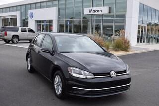New 2019 Volkswagen Golf S Hatchback in Macon, GA