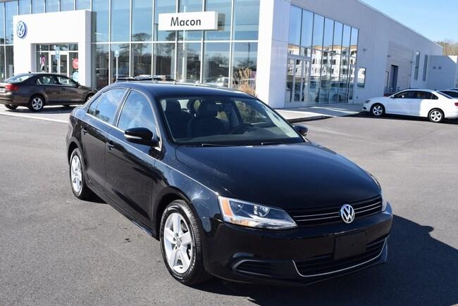 2013 Volkswagen Jetta TDI Sedan in Macon at Volkswagen of Macon used car dealer