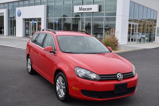 2014 Volkswagen Jetta SportWagen 2.0L TDI Wagon in Macon at Volkswagen of Macon used car dealer