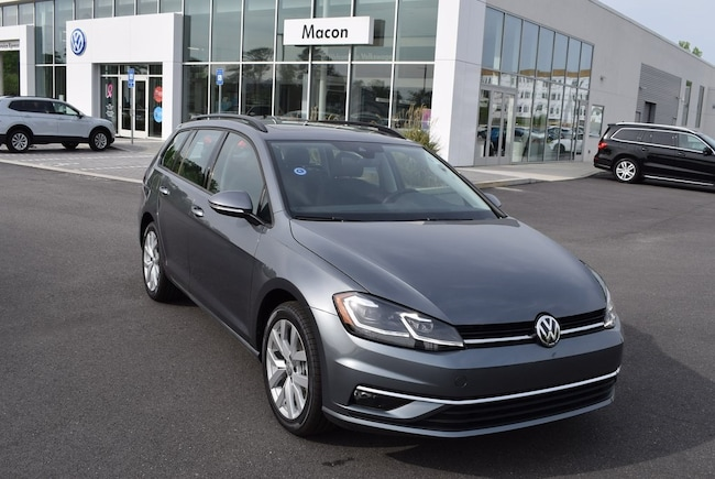 New 2019 Volkswagen Golf SportWagen SE Wagon in Macon, GA