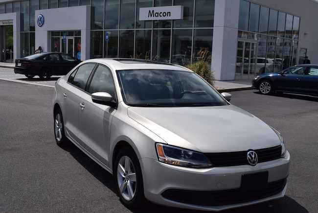 2011 Volkswagen Jetta TDI Sedan in Macon at Volkswagen of Macon used car dealer