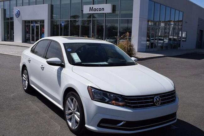New 2019 Volkswagen Passat 2.0T Wolfsburg Sedan in Macon, GA