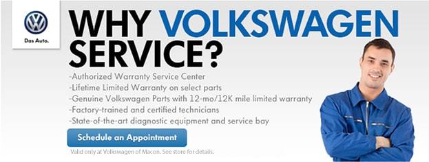 Volkswagen Service Specials | Volkswagen of Macon near ...