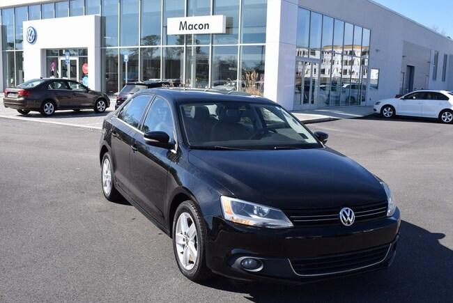 2012 Volkswagen Jetta TDI Sedan in Macon at Volkswagen of Macon used car dealer
