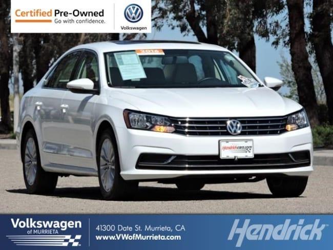 2016 Volkswagen Passat 1.8T SE w/Technology Sedan