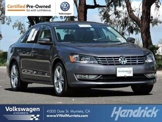 2015 Volkswagen Passat 2.0L TDI SEL Premium Sedan