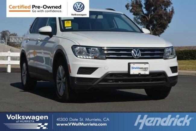 2018 Volkswagen Tiguan S 2.0T S FWD