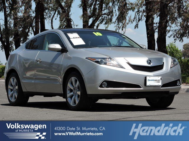 Acura Zdx For Sale >> Used 2010 Acura Zdx For Sale At Volkswagen Of Murrieta Vin