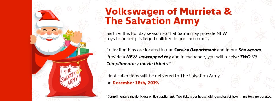 Salvation Army Toy Drive 2019