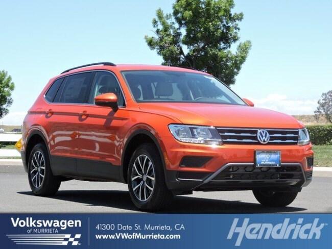 New 2019 Volkswagen Tiguan For Sale At Hendrick Automotive