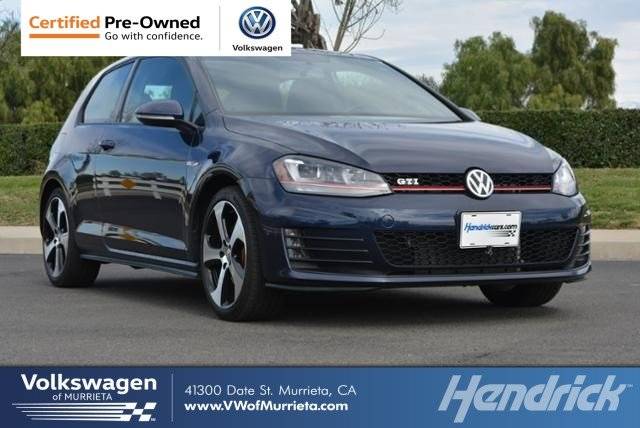 Used 2016 Volkswagen Golf Gti For Sale At Volkswagen Of Murrieta