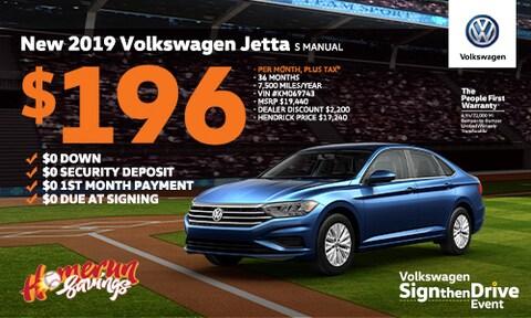 2019 Jetta Offer