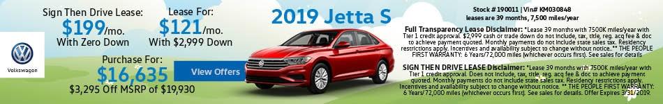 19 Jetta March