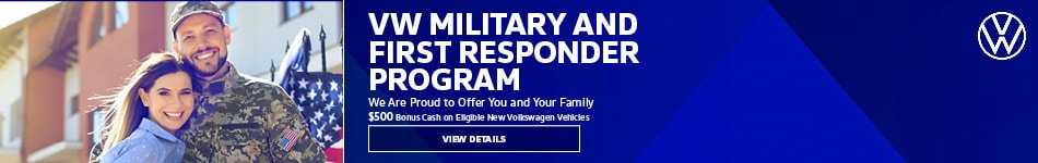 VW Military and First Responder Program