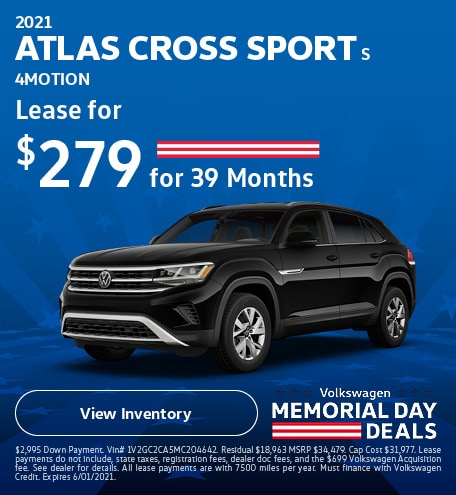 2021 Atlas Cross Sport S 4Motion