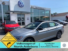 New 2020 Volkswagen Jetta 1.4T R-Line w/SULEV Sedan for Sale in North Attleboro, MA, at Volkswagen of North Attleboro
