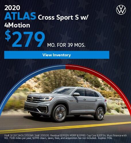 2020 - Atlas Cross Sport - July
