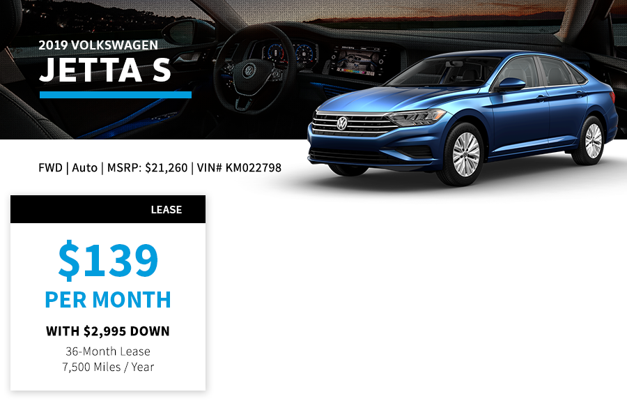 Jetta S Special Offer