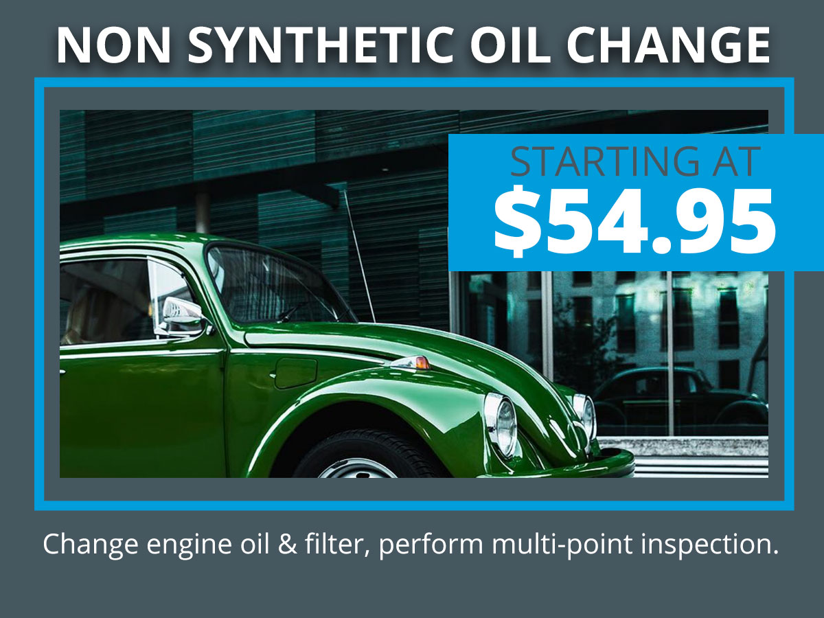 Volkswagen Oil Change Special Coupon