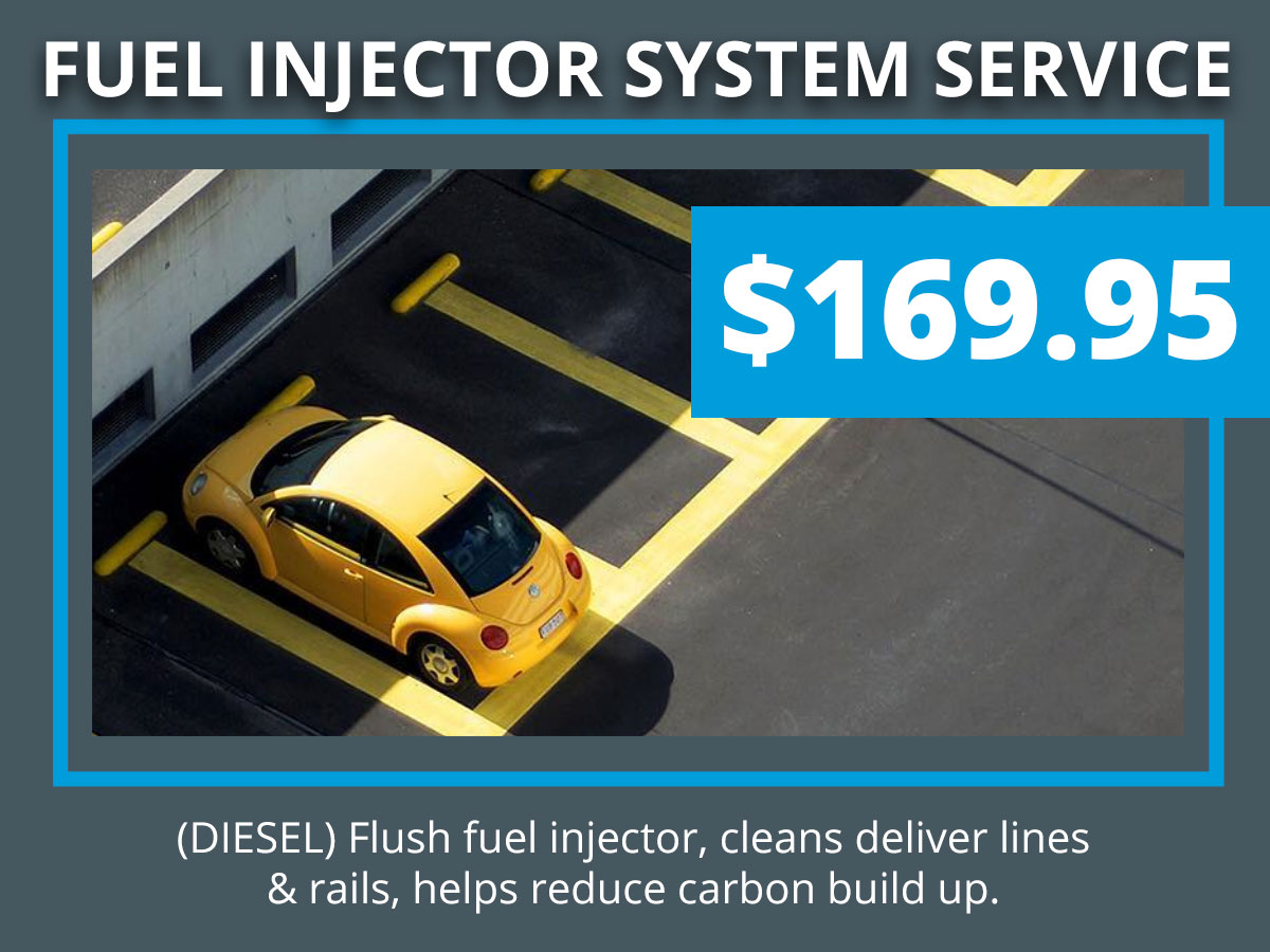 VW Diesel Fuel Injector Coupon