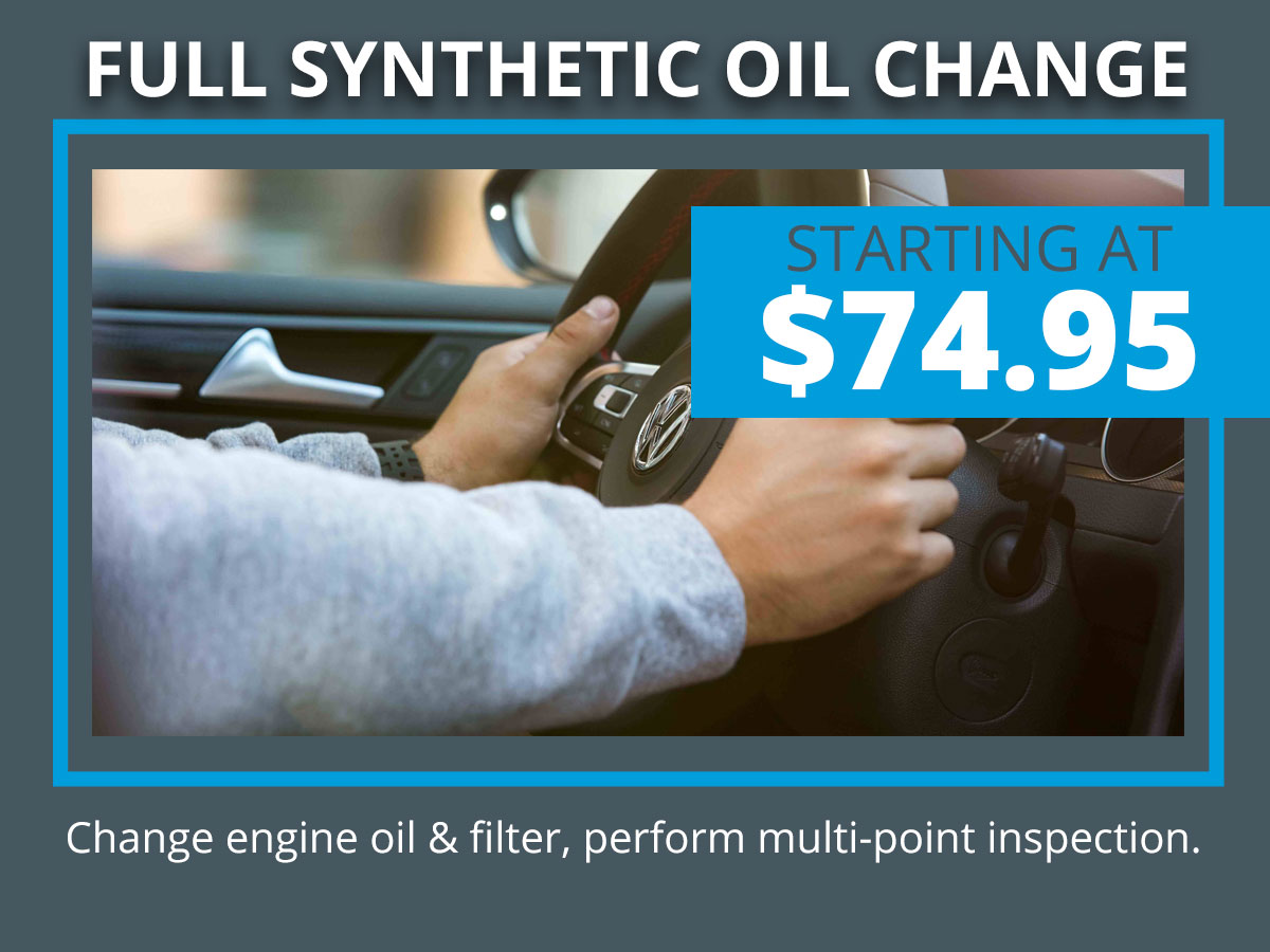 VW Synthetic Oil Change Coupon