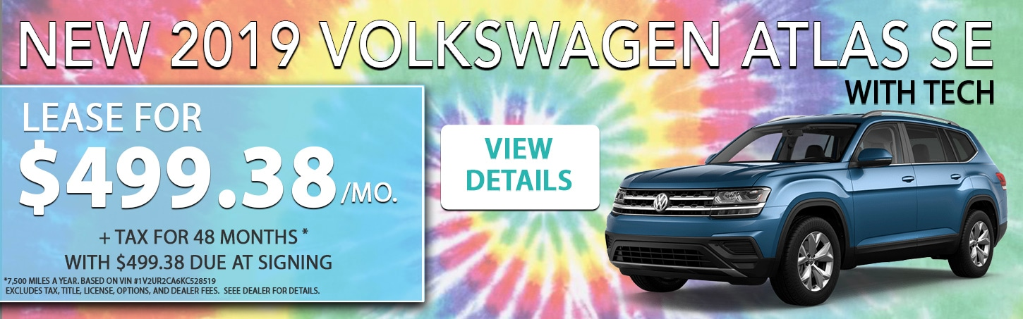 Monthly Lease Specials | Volkswagen of Puyallup