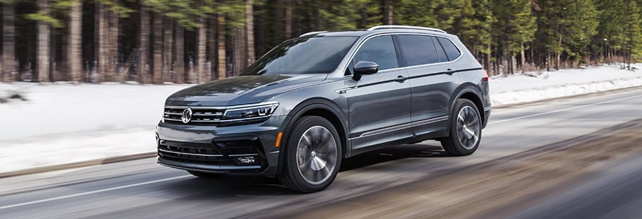 Volkswagen Tiguan Interior and Exterior Vehicle Features