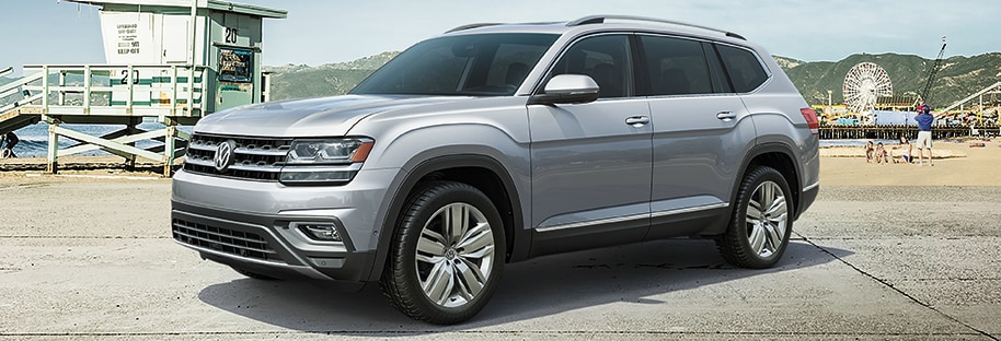 Volkswagen Atlas Interior and Exterior Vehicle Features