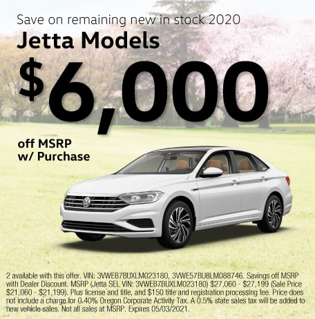 New 2020 Jetta Models