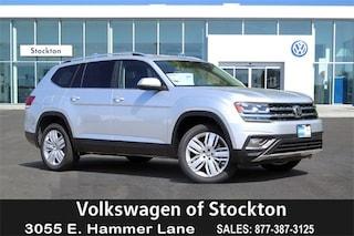 New Volkswagen 2019 Volkswagen Atlas 3.6L V6 SE w/Technology SUV for sale in Stockton, CA