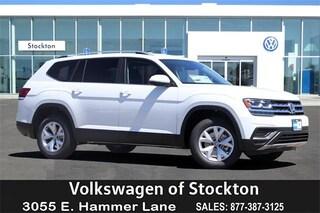 New Volkswagen 2019 Volkswagen Atlas 2.0T S SUV for sale in Stockton, CA