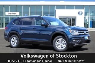 New Volkswagen 2019 Volkswagen Atlas 3.6L V6 SE SUV for sale in Stockton, CA