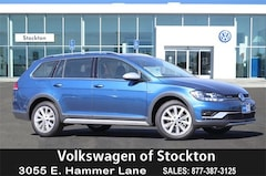 New 2019 Volkswagen Golf Alltrack TSI SE 4MOTION Wagon For Sale in Stockton