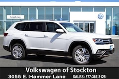 New 2019 Volkswagen Atlas 2.0T SE w/Technology SUV For Sale in Stockton