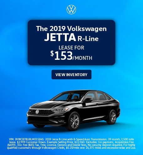 The 2019 Volkswagen Jetta R-Line