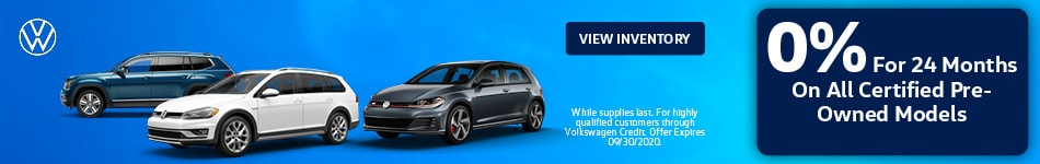 0% For 24 Months On All CPO Models
