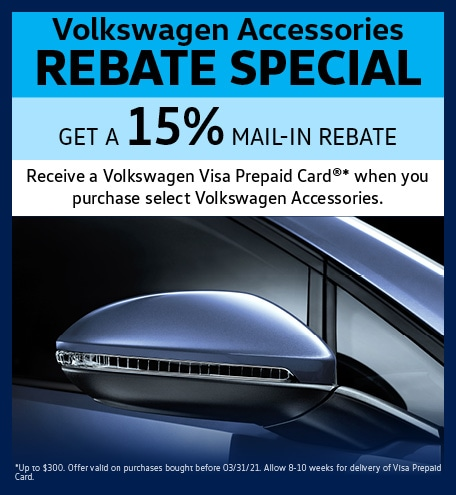 Volkswagen Accessories Rebate Special