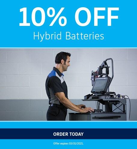 10% Off Hybrid Batteries