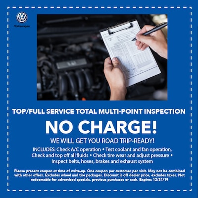 Full Service Total Multi-Point Inspection