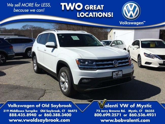 New 2019 Volkswagen Atlas For Sale at Volkswagen of Old Saybrook