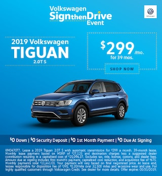 2019 Tiguan May Offers