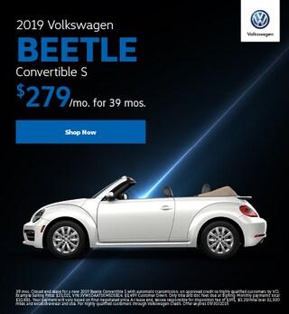 2019 Volkswagen Beetle Convertible S Lease Offer