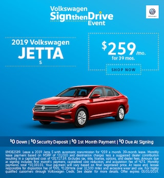 2019 Jetta May Offers